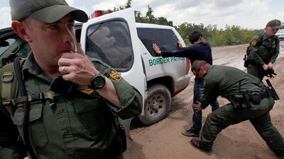 Fuerza excesiva de las patrullas fronterizas