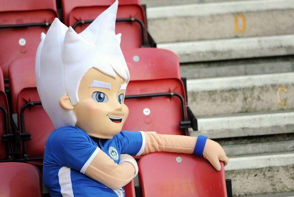 Uno que se durmió fue la mascota oficial del Wigan, su equipo no...