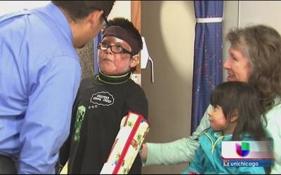 Niño de seis años que sobrevivió a incendio sale del hospital