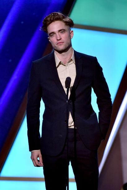 Así se presentó en la pasada gala de los Hollywood Film Awards 2014.