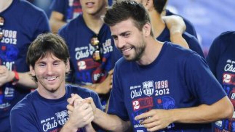 Piqué y Messi tienen una buena relación dentro y fuera de las canchas y...