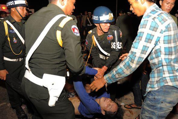 Los servicios del hospital Calmete, uno de los mayores de Phnom Penh, se...