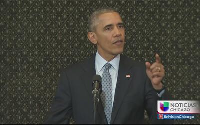 Obama le dijo a los legisladores que está frustrado con la polarización...