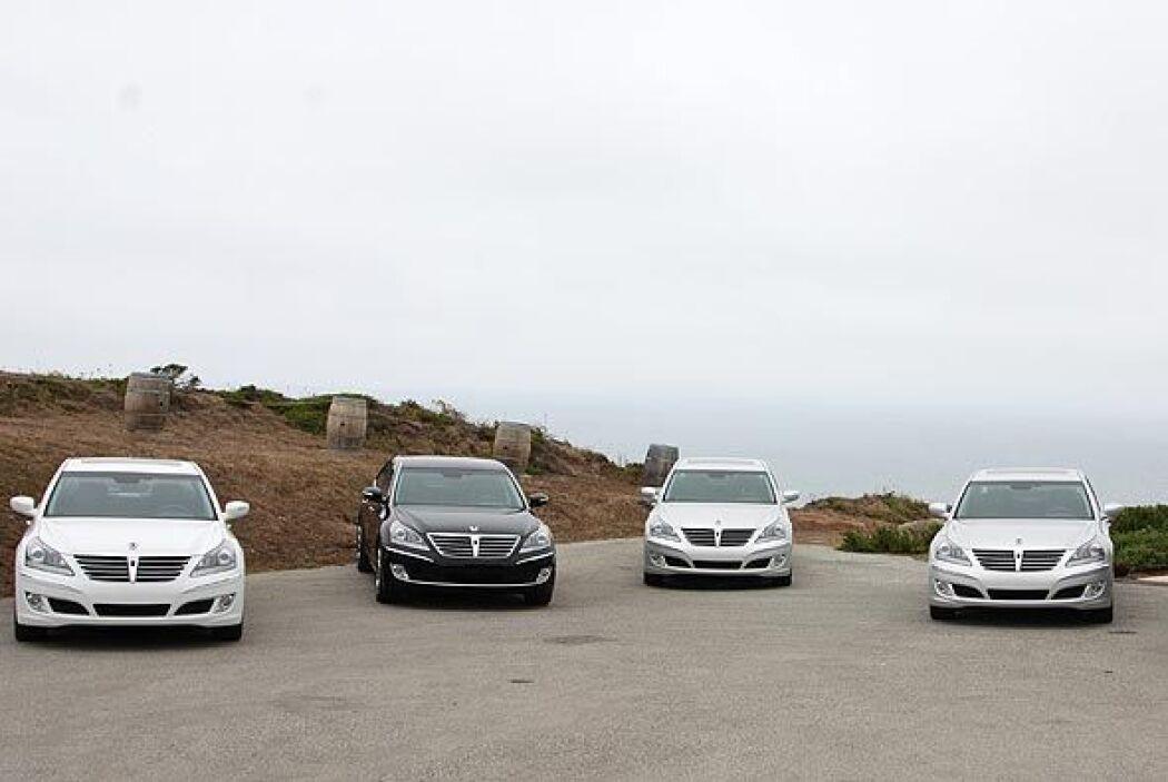 Hyundai presentó su nuevo 'buque insignia' Equus en los Estados Unidos.