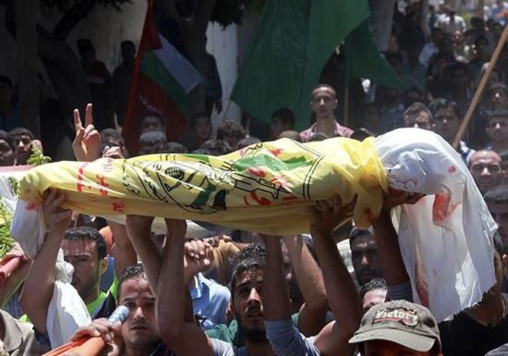 El portavoz del servicio del Ministerio de Sanidad en Gaza, Ashraf al Qe...