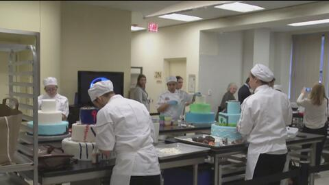 Los pasteleros del futuro compiten por una beca que los haga profesionales
