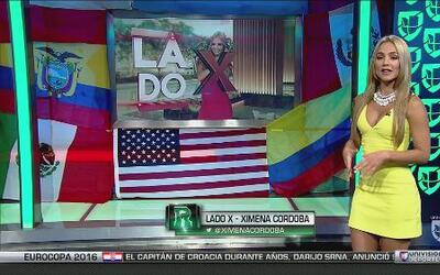 Lado X de la Copa América con Ximena Córdoba