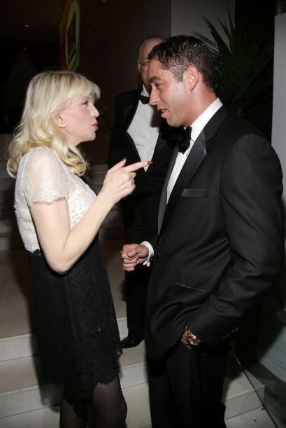 Courtney y Nick se veían bastante entretenidos compartiendo algunos come...