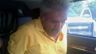 José Manuel Mireles, tras ser detenido.