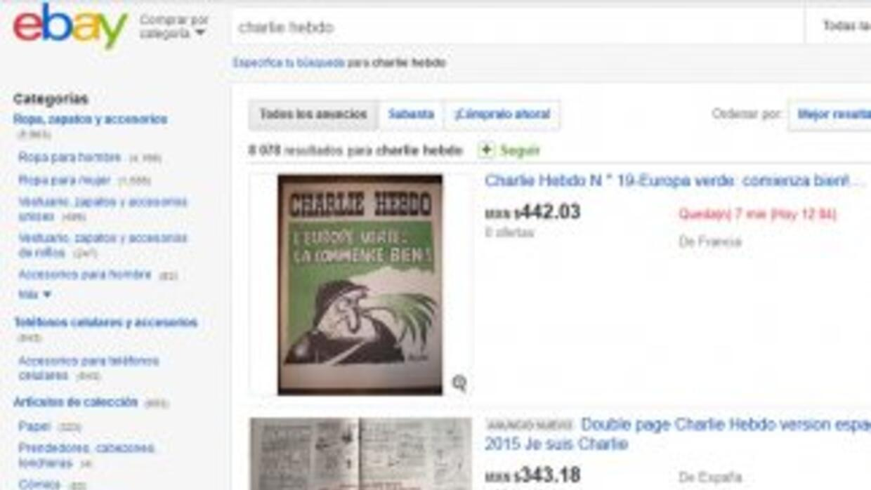 Imagen tomada de la web de eBay donde se ofertan ejemplares de la revist...