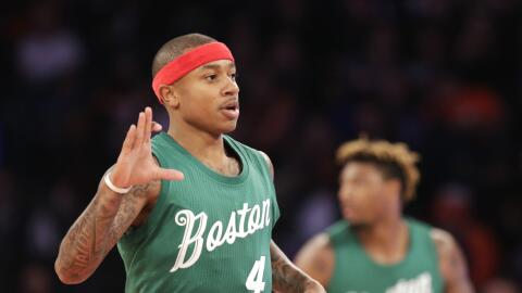 Isaiah Thomas anotó 27 puntos.