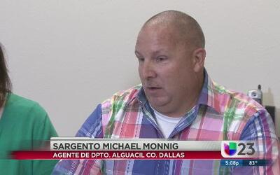 Alguacil de Dallas no usó traje protector
