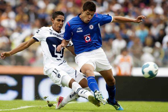 Néstor Araujo, el defensor tuvo sus primeros minutos en primera d...
