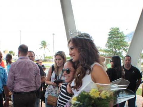 La octava reina de Nuestra Belleza Latina regresó a su hogar: Pue...