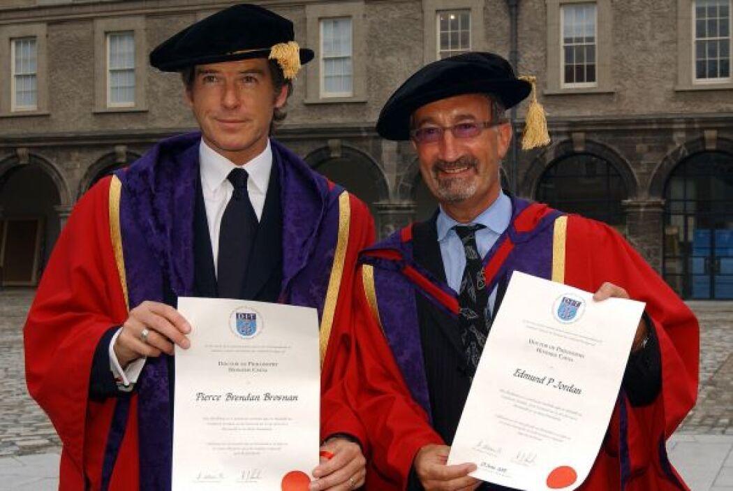 O cuando la Universidad de Berlín le dio un doctorado Honoris Causa y di...