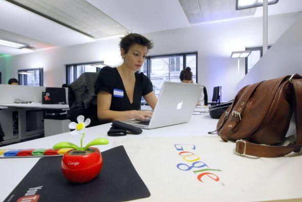 1.GOOGLE-  Número de empleados-18,391-  Industria-Medios, servicios de I...