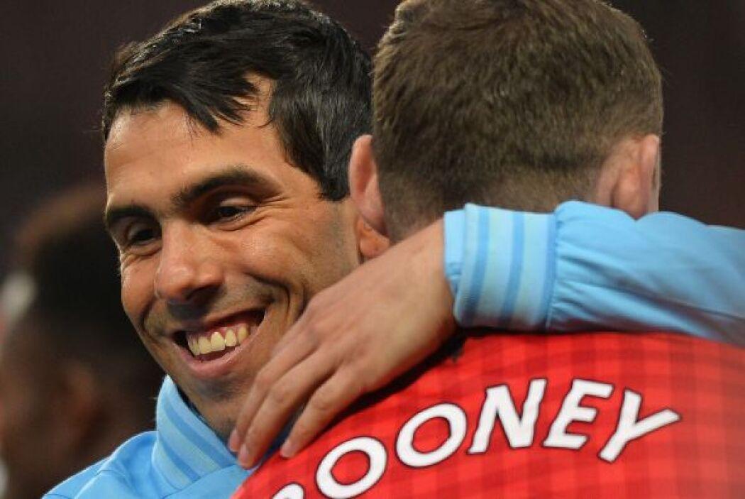 Una nueva edición del 'derby' de Manchester se vivió en Old Trafford con...