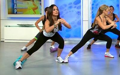 Ejercicios con Claudia Molina para eliminar la celulitis en piernas, glú...