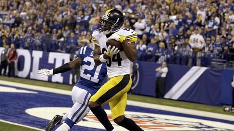Antonio Brown despedazó a los Colts con tres touchdowns