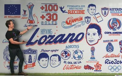 Biografía ilustrada: Hirving Lozano, futura promesa del fútbol mexicano