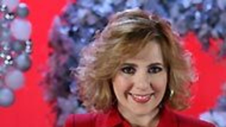 Ana María Canseco hace campaña para promover el mejor regalo de navidad....
