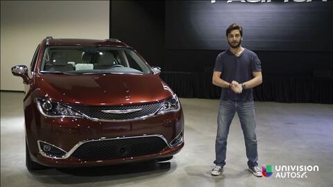 Chrysler Pacifica 2017 - Prueba A Bordo [Full]