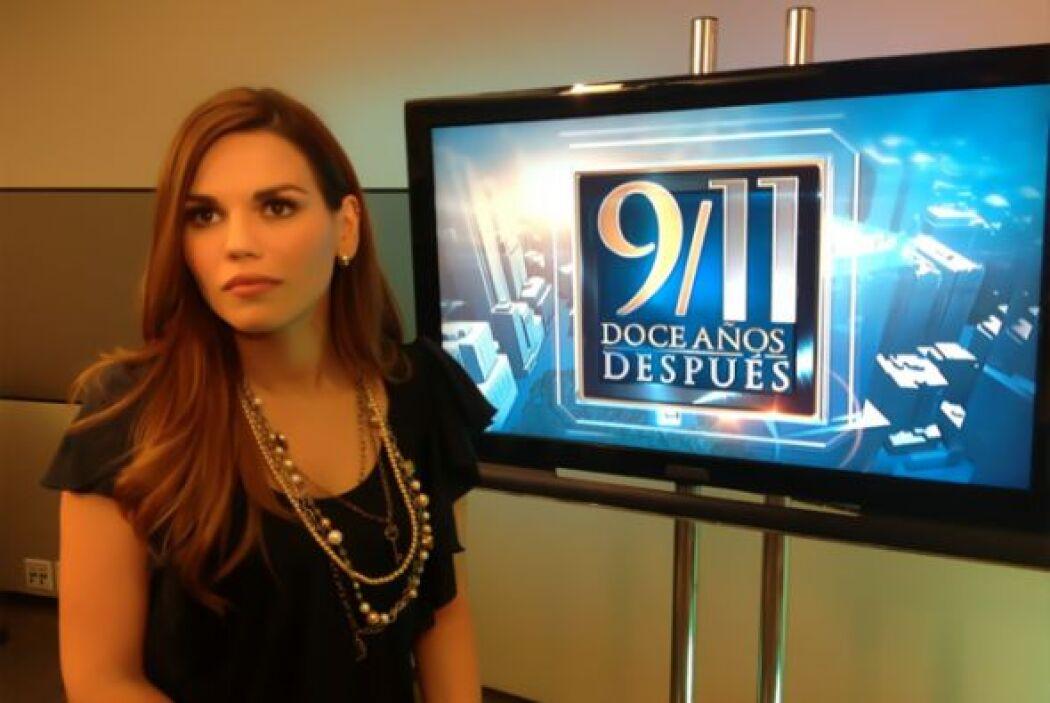 Karina Banda/ Presentadora en A primera Hora  ¨Yo estaba en Monterrey vi...