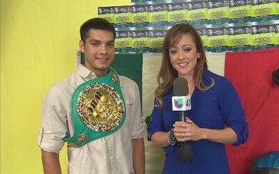 'Panterita' Figueroa invita a los jóvenes a practicar el boxeo