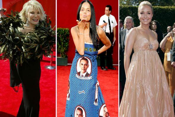 Se supone que estas premiaciones las famosas deben de brillar, sin embar...