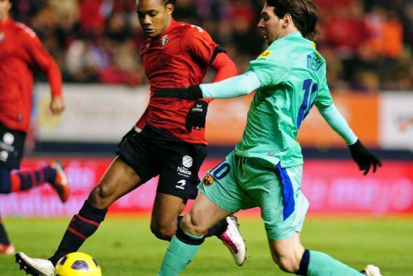 'La Pulga' Messi no mostró problemas con respecto a la terrible p...