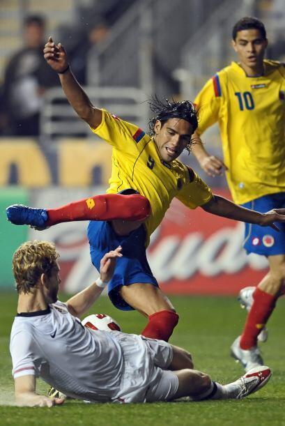 Radamel Falcao Garcia y Gio Moreno son sus armas fuertes.
