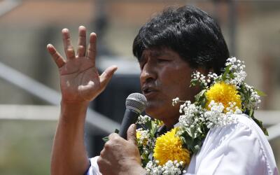 """De ganar la opción del """"Sí"""", Morales podr&iacute..."""