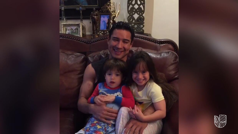 Mario Lopez on Life As A Dad