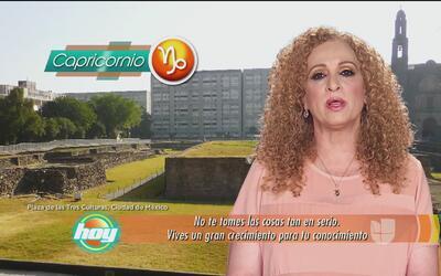 Mizada Capricornio 25 de abril de 2017