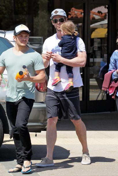 Fue con ellos la mamá de Chris y Liam,  Leonie.
