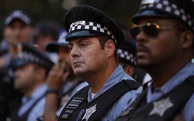 En términos de delincuencia, la situación en Chicago es mu...