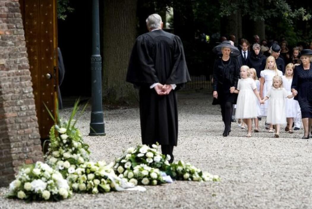 El segundo hijo de Beatriz fue enterrado a un centenar de metros de la f...