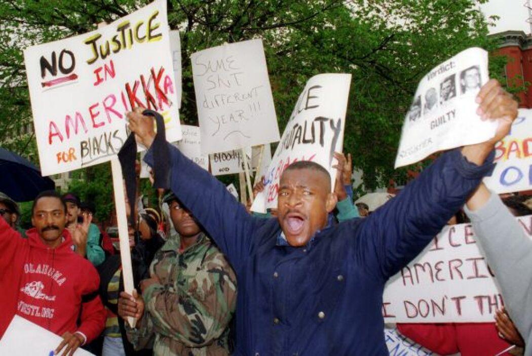 La comunidad afroamericana reaccionó con bronca y desesperación ante el...