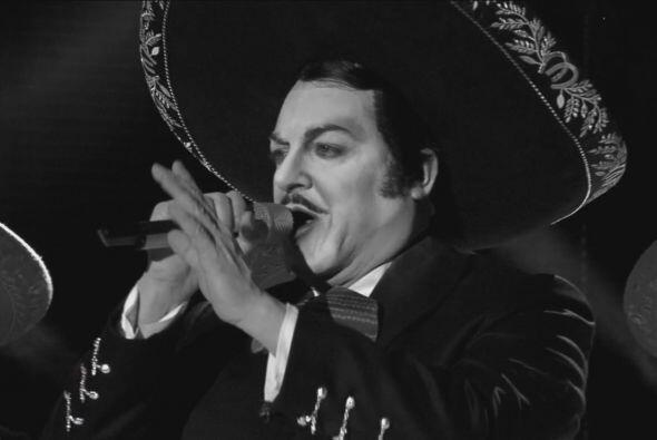 Junto con Jorge Negrete (Antonio Mejía) tuvieron un duelo a muerte.