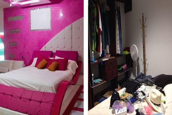 De los cuartos llenos de color y comodidad terminó viviendo los &...
