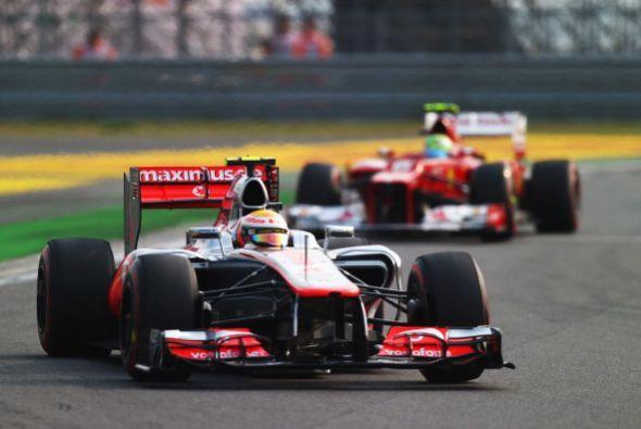 El alemán Sebastian Vettel (Red Bull) ganó el Gran Premio de Corea del S...