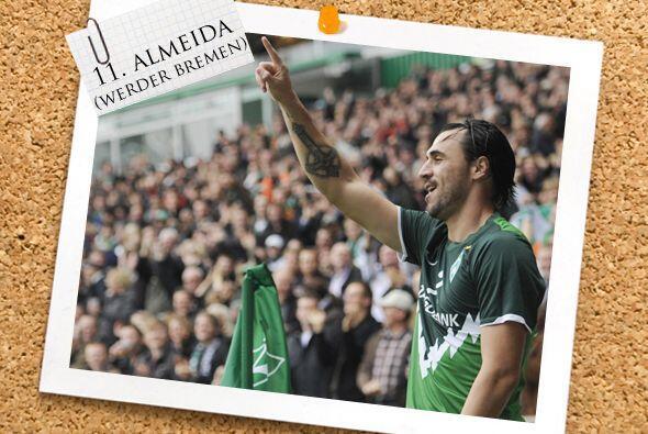 Y, modestamente, el portugués Hugo Almeida sumó otros tres goles para el...