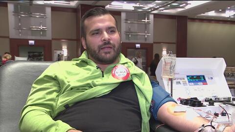 Con éxito transcurre la campaña de donación de sangre