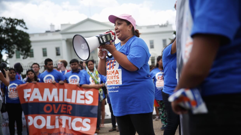 Manifestación contra las deportaciones