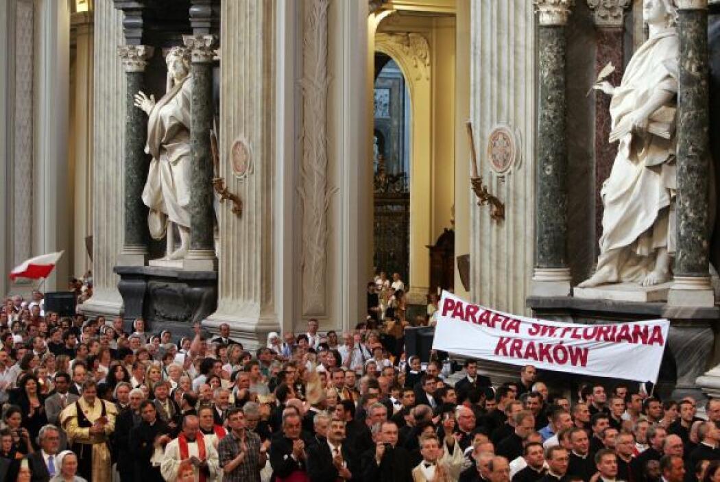 El tiempo para estos procesos del Vaticano son más de cinco años por lo...