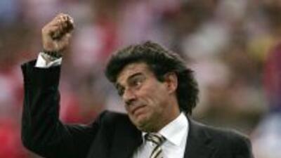 Rubén Omar Romano cayó 3-2 ante los rojiblancos un par de semanas antes...