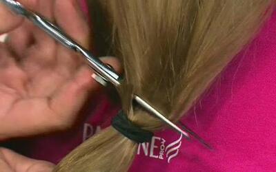 Tres niñas donaron su cabello para personas con cáncer y recibieron el a...