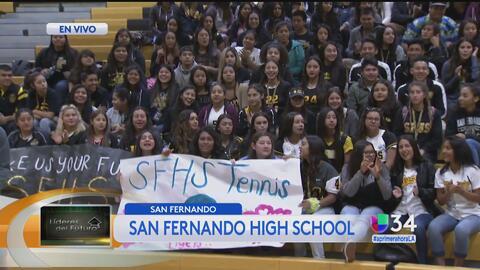 Líderes del futuro: San Fernando High School