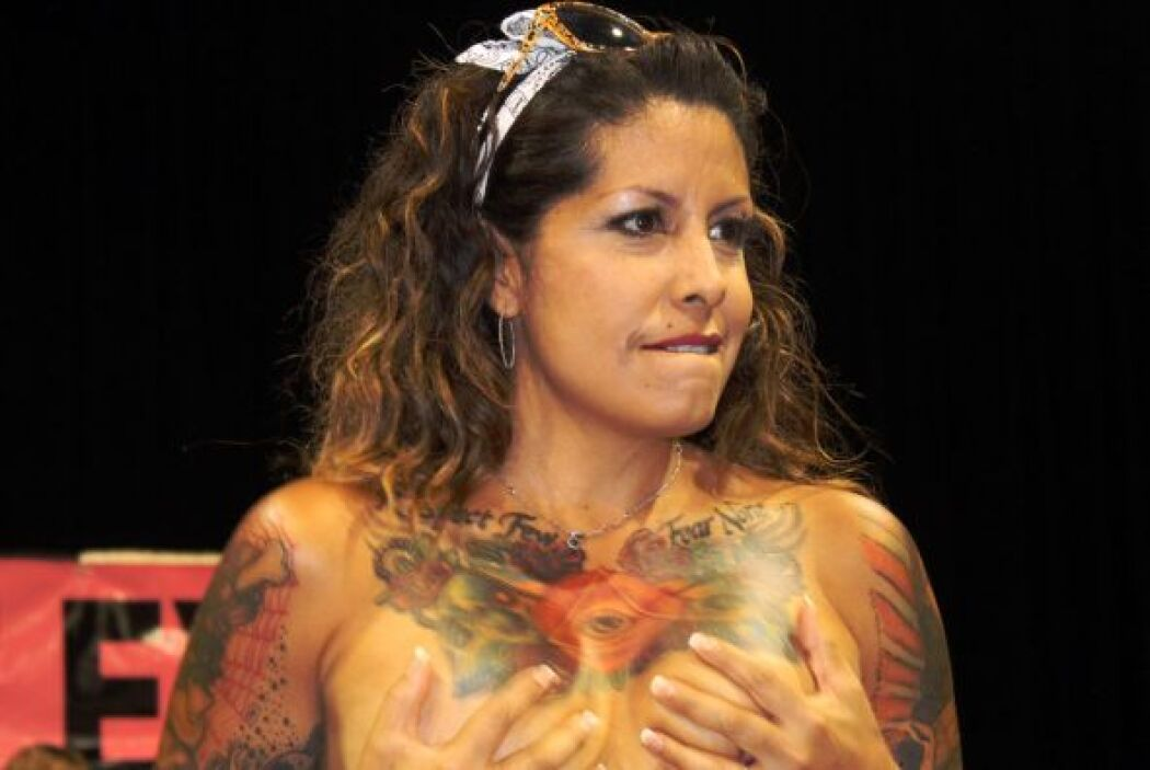 El show en el Body Art Expo