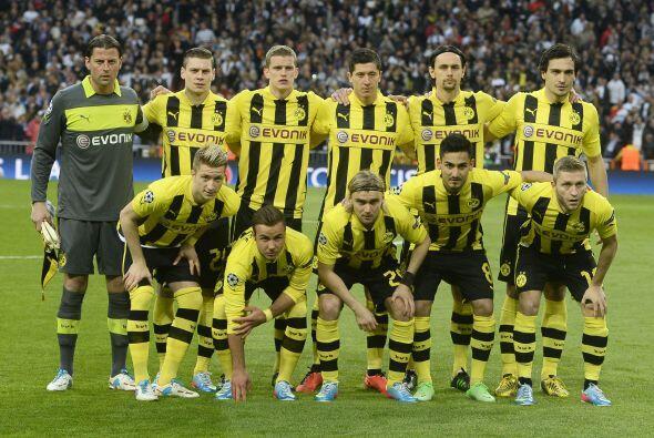 El Borussia Dortmund se metía a casa de los blancos con una ventaja envi...